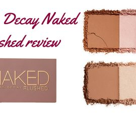 Urban Decay Naked Flushed Review TheFuss.co.uk