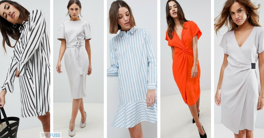 ASOS Work Dresses Perfect For The Summer Heat TheFuss.co.uk