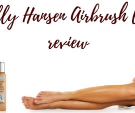 Sally Hansen Airbrush Legs Review TheFuss.co.uk