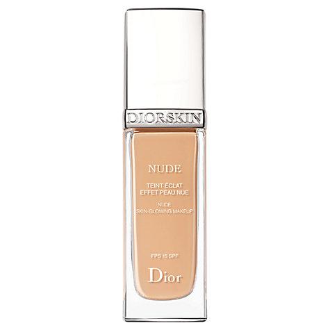 Dior Diorskin Nude Natural Glow Radiant Foundation