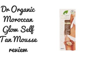 Dr Organic Moroccan Glow Self Tan Mousse Review TheFuss.co.uk