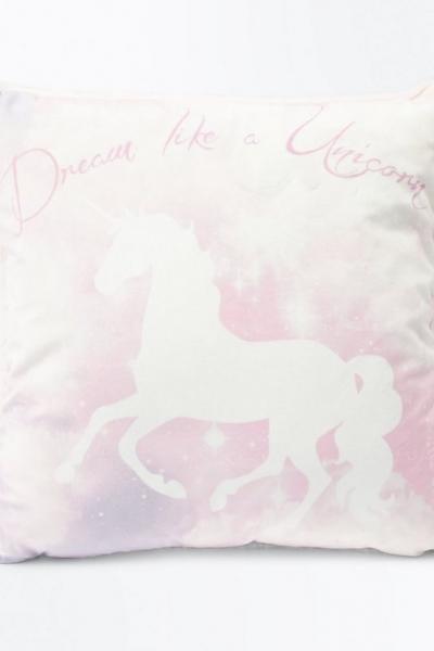 New Look Pink Dream Like A Unicorn Cushion