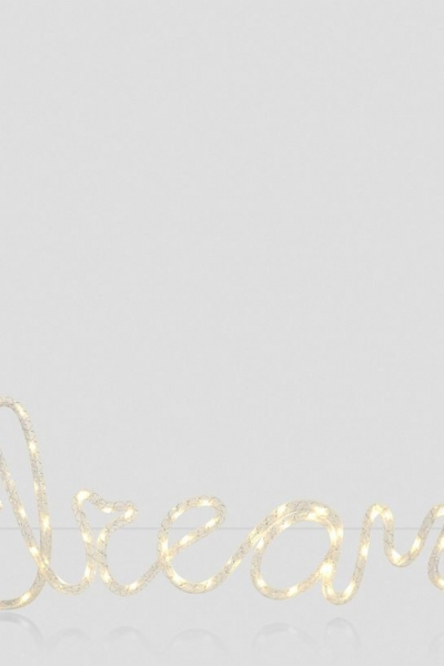 New Look White Dream LED Light