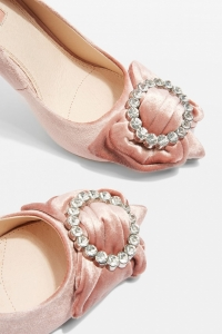 Topshop GLAMOROUS Bow Court Shoes