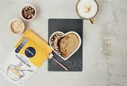 Creamy Coffee Hazelnut Porridge