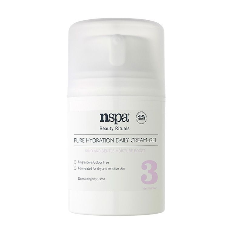Nspa Pure Hydration Daily Cream Gel review TheFuss.co.uk