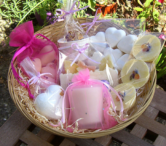 Bath Gift Basket