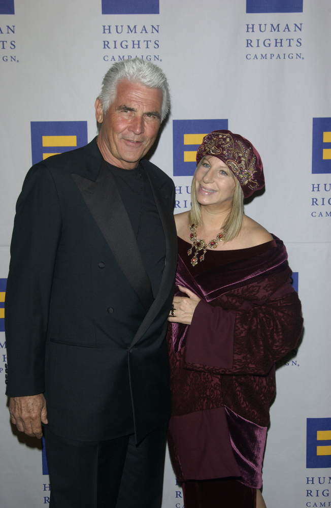 Barbra Streisand and James Brolin Featureflash Photo Agency Shutterstock Com