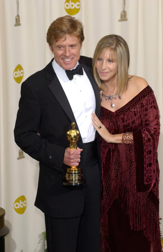 Barbra Streisand And Robert Redford TheFuss.co.uk