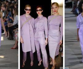 Lilac Fashion Trend For SS18
