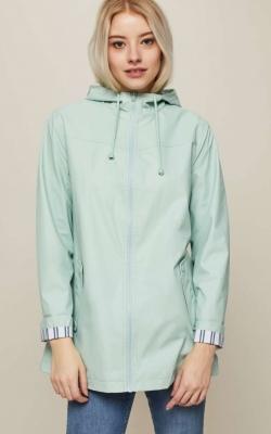 Miss Selfridge Mint Raincoat