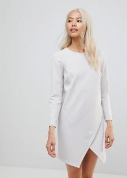 ASOS Asymmetric Clean Shift Mini Dress
