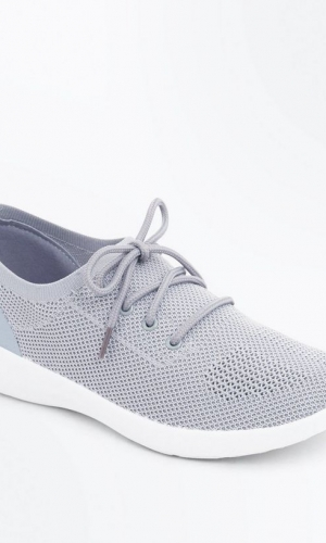 New Look Grey Knit Trainers