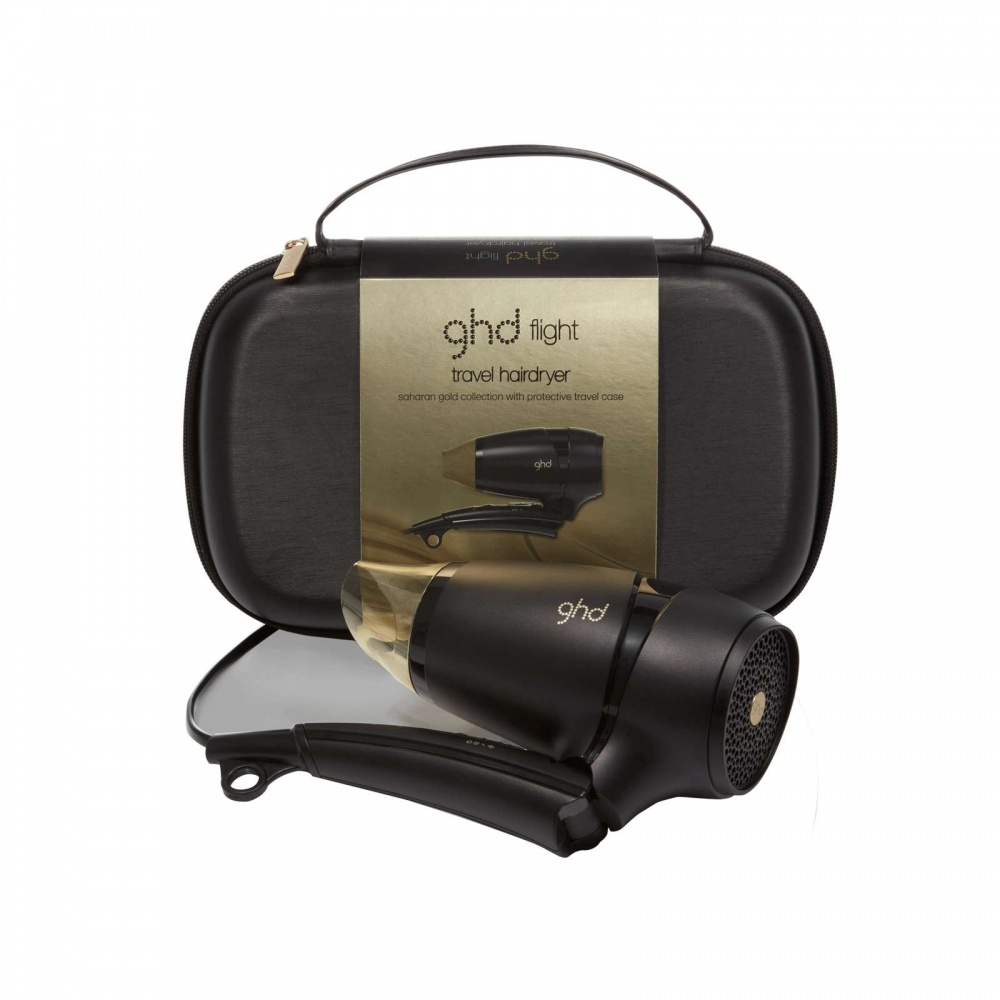 Ghd Flight Saharan Gold Travel Hairdryer Review TheFuss.co.uk