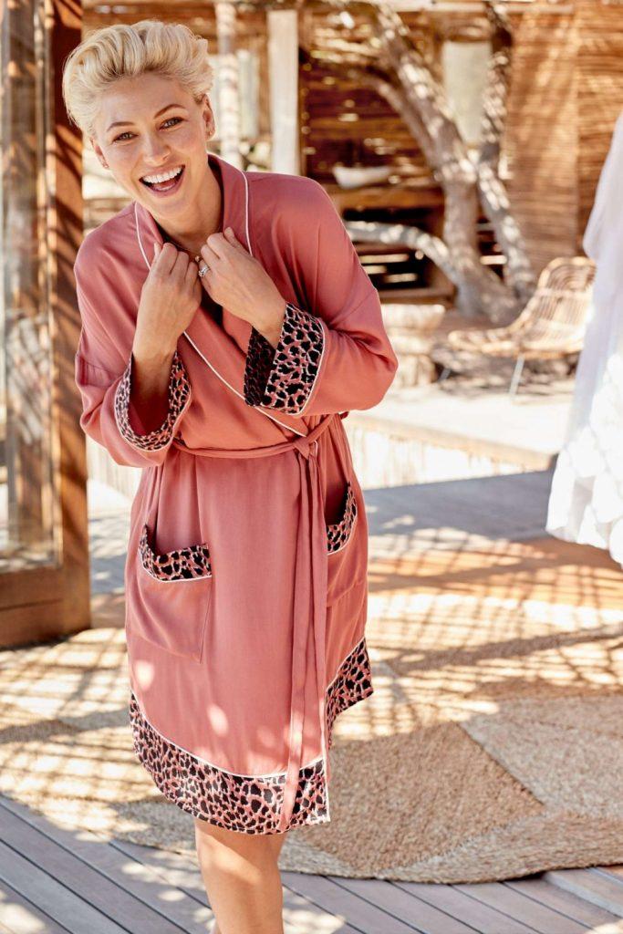 Emma Willis Next Pink Robe