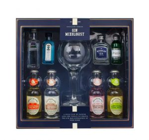 Distilled Gin Mixologist Gin Tonic Glass Set